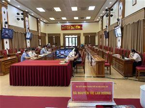 Tổ đại biểu HĐND TP Hà Nội tiếp xúc cử tri huyện Quốc Oai sau kỳ họp thứ Hai HĐND thành phố khóa XVI