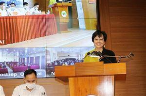 [Báo kinhtedothi.vn] Ứng viên ứng cử đại biểu HĐND TP Hà Nội tại Quốc Oai - Bà Nguyễn Thị Lan Hương dành nhiều quan tâm tới đầu ra cho nông sản