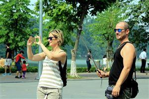 Hơn 5,5 triệu lượt khách quốc tế đến Việt Nam 4 tháng đầu năm 2018