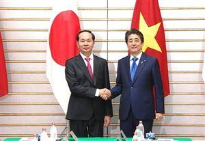 Nhật Bản coi chuyến thăm của Chủ tịch nước là sự kiện chính trị rất quan trọng