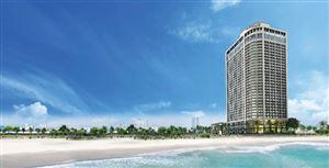 Ngắm hoàng hôn bên vịnh biển Đà Nẵng từ khách sạn 36 tầng
