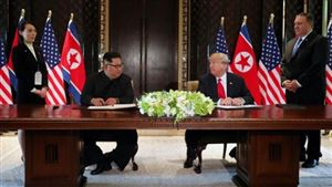 """Ông Trump tuyên bố Triều Tiên sẽ phi hạt nhân hóa """"rất nhanh chóng"""""""