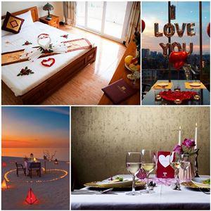 Gợi ý 10+ tips trang trí khách sạn - nhà hàng chủ đề Valentine